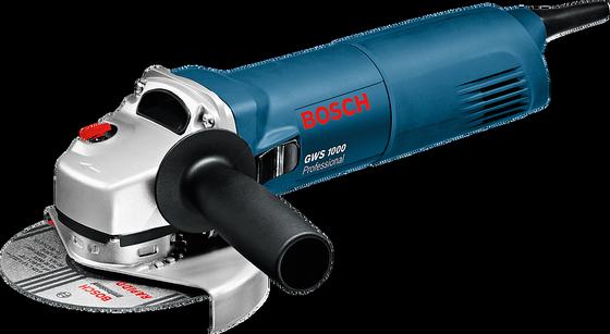 23002 - ΓΩΝΙΑΚΟΣ ΤΡΟΧΟΣ BOSCH GWS1000/ 1000W - 115 mm
